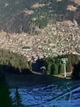 Morzine looking great from the top of the cable car