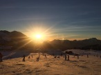 A fabulous Alpine sunset above Avoriaz
