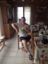 A fitting farewell breakfast for Bday Boy 'Chef' :)))