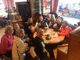 All enjoying a bit of Apres Ski